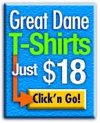 Great Dane t-shirts and sweatshirts